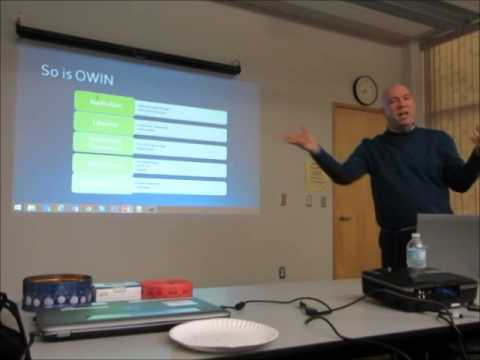 Introduction to ASP.NET v.Next. Project hosting & OWIN. Part 6 of Bruce Johnson talk @CTTDNUG Meetup