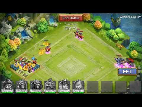 Castle Clash - Solo WG 4