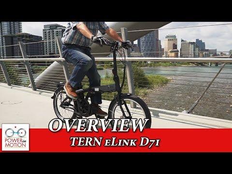 TERN ELink D7i Electric Folding Bike Overview   Calgary   Alberta   Canada   EBike Calgary