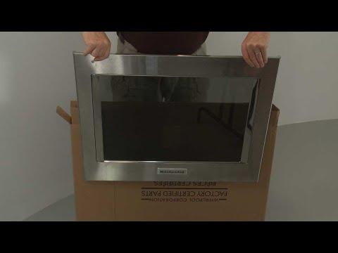 Outer Door Panel -  Kitchenaid Electric Slide-In Range Model #KSEB900ESS2