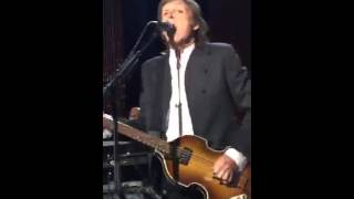 Paul McCartney Live At PETA 35th Anniversary Party 2015