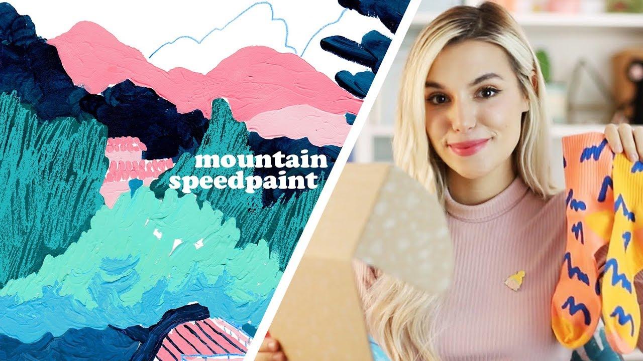 marzia artist box speedpaint