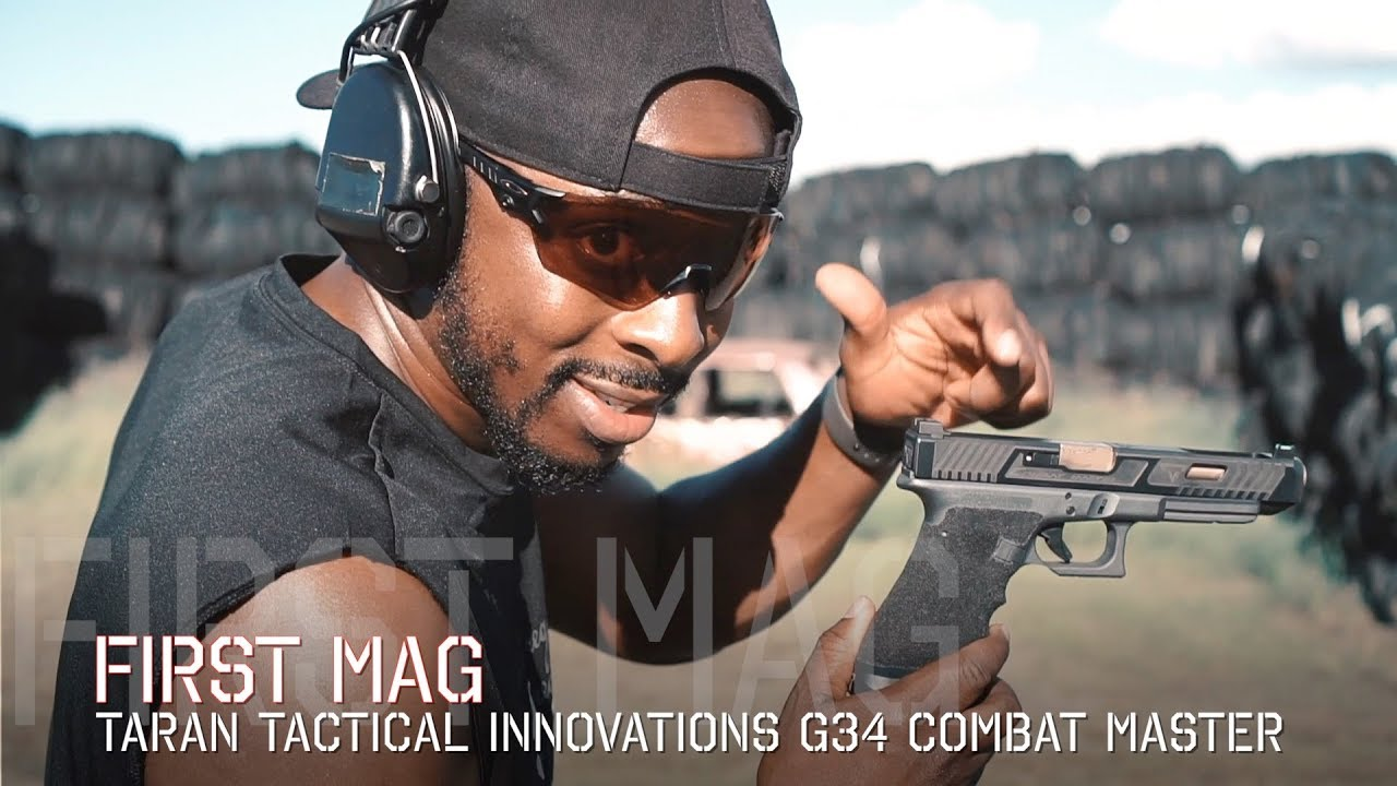 Glock 34 Taran Tactical Innovations Combat Master | First Mag Review