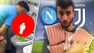 FIUS GAMER VOMITA DOPO 1KG DI WURSTEL! OHM e FIUS GAMER vs FOOD! FIFA 18 CHALLENGE!