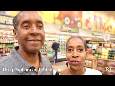 The grand opening of Sprouts Farmers Market in Las Vegas