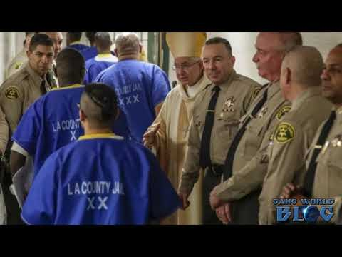 LA County's New Sheriff Celebrates Christmas Mass With Inmates at Men's Central Jail