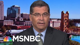 California AG On Standing Up To Trump's Immoral Migrant Policies | The Beat With Ari Melber | MSNBC