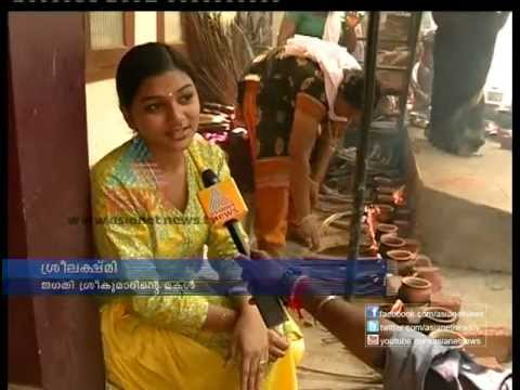 Jagathy Sreekumar's daughter Sreelekshmi offered her Ponkala for Jagathy's health