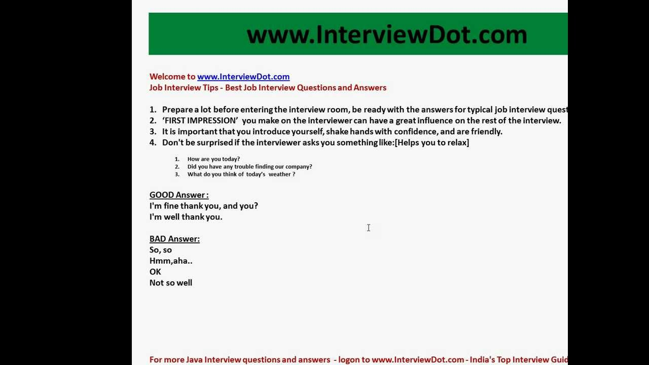 job interview tips job interview questions and answers youtube maxresdefault watchvm7pm4lixwx0 cna interview questions and answers