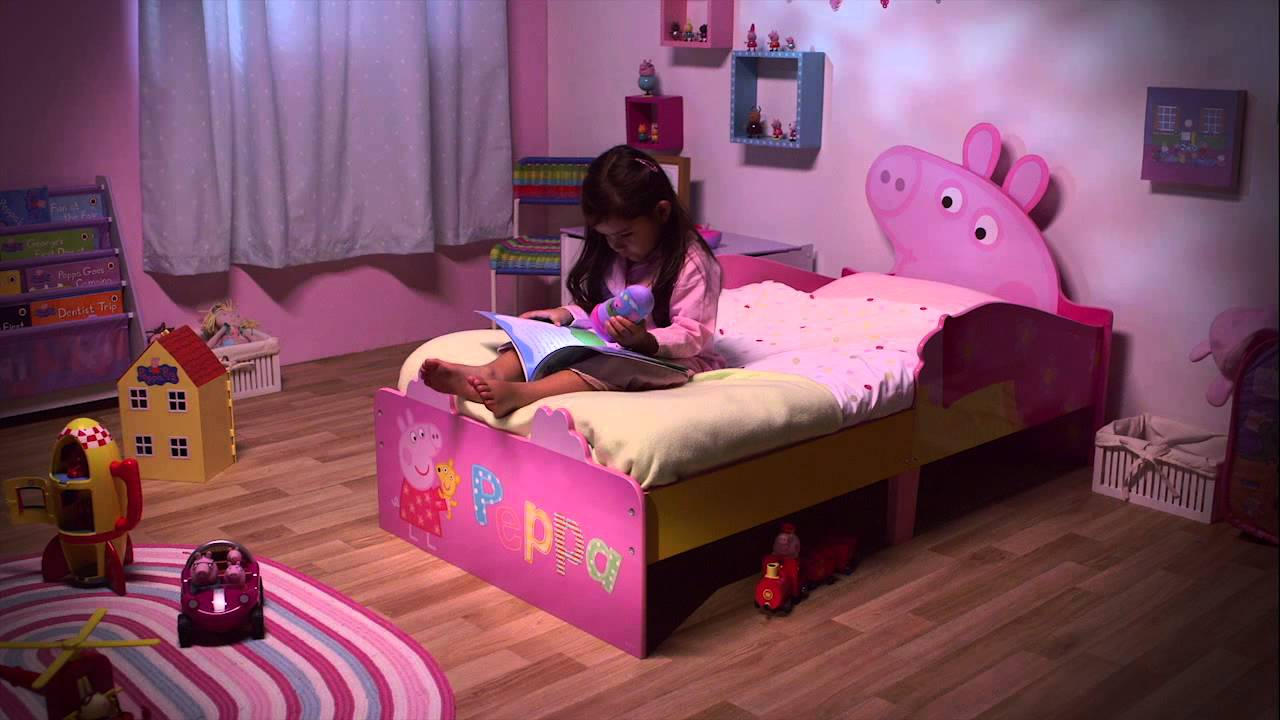 HelloHome Peppa Pig Snuggletime Toddler Bed  YouTube