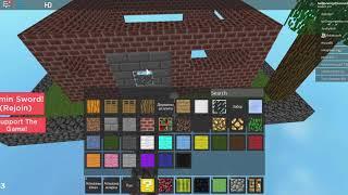 Building aparement (minecraft roblox)