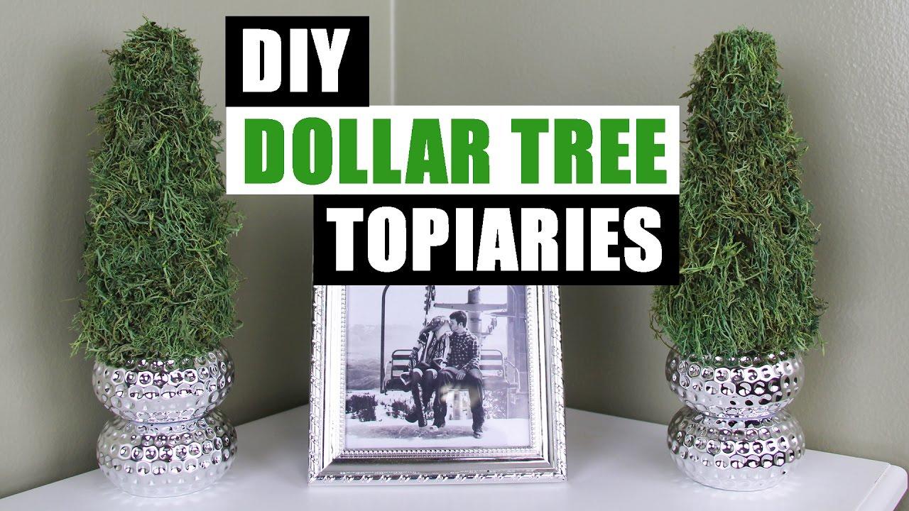 Diy Dollar Tree Topiaries Dollar Store Diy Spring