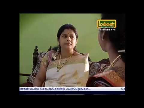 V.Srividhya - Makkal TV Show Part- 2
