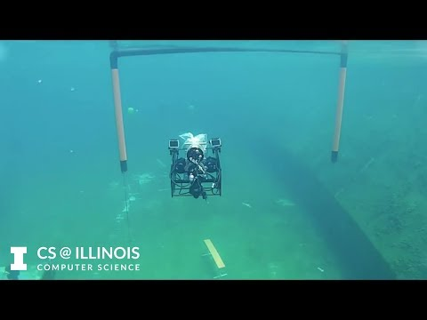 Enigma: The Illinois Autonomous Underwater Vehicle team's submarine