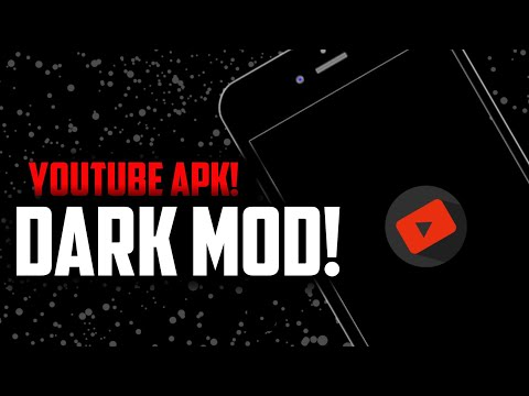 Get Dark theme mod of Youtube Apk | Black Edition of Youtube Application  without Root!