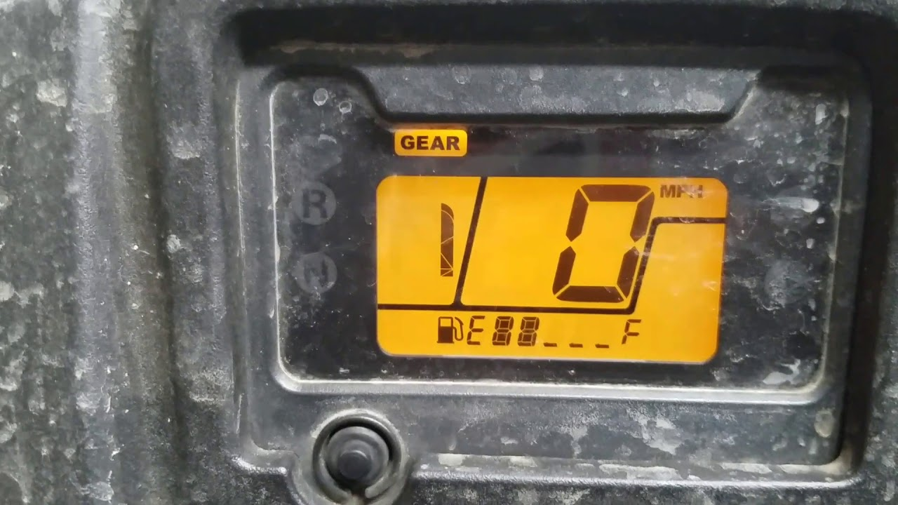 2016 Honda Rancher Angle Sensor Error code 24