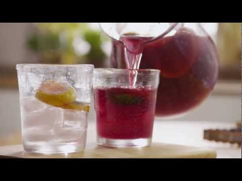 How to make red wine sangria with orange juice
