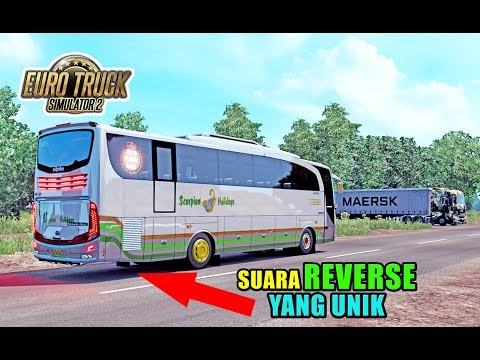 KRENNN, BUS SCH 716 DENGAN SUARA MUNDUR YANG ANTI MAINSTREAM PLUS TELOLET - ETS2 MOD INDONESIA - 동영상