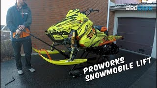 ProWorks Snowmobile Lift - Sledstore