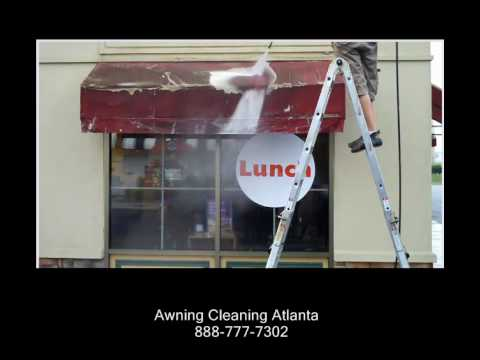 Awning Cleaning Chicago - YouTube