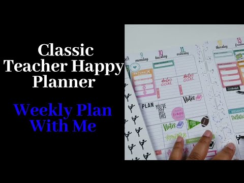 Is this Classic Teacher Happer Planner still works for my Family?