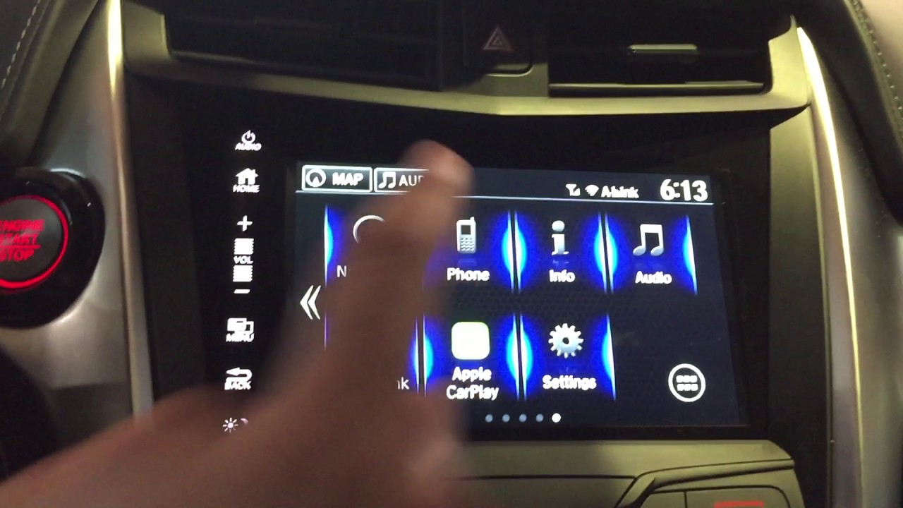 Acura Nsx With Le Carplay And Andriodauto Dm You