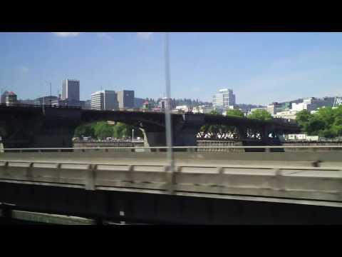 Ride C-Tran Express bus to Portland