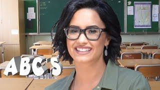 Learn The Alphabet With Demi Lovato