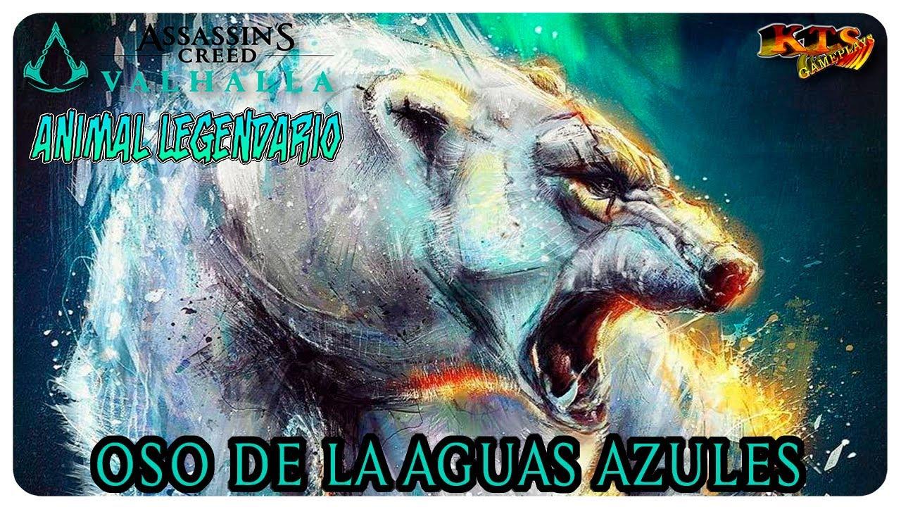ASSASSIN´S CREED VALHALLA.   #188: OSO DE LAS AGUAS AZULES. [ANIMAL LEGENDARIO]