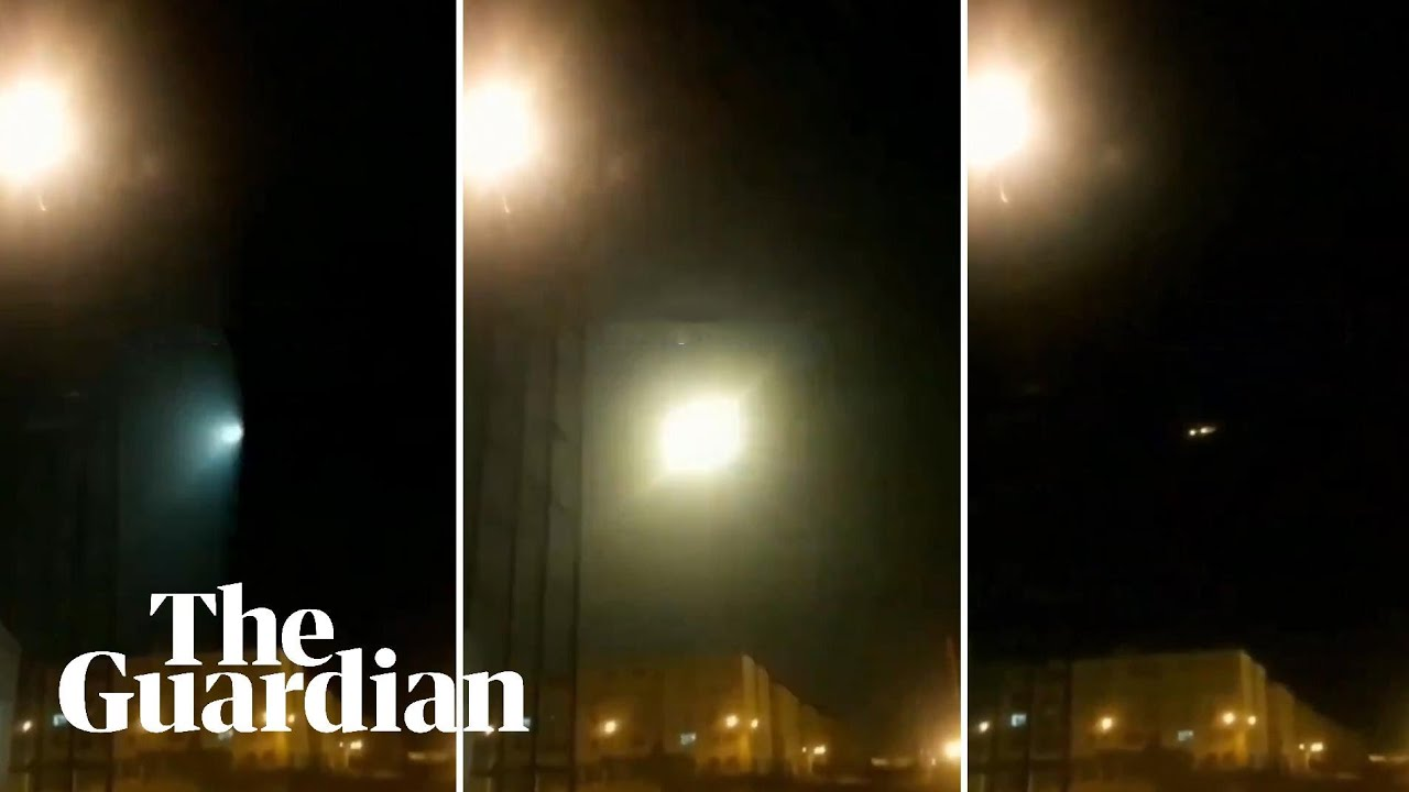 Video appears to show moment Ukraine plane was shot down over ...