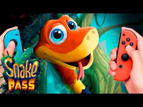 ¡¡Hay una serpiente en mi Switch!! - Snake Pass en Español