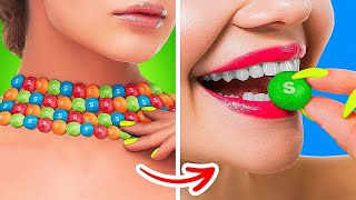 SNEAKING FOOD  Funny Hacks, Tricks, and Pranks For YOU
