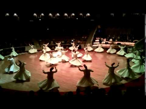 Sema ceremony - Whirling dervishes Konya, Turkey / Kerengő dervisek