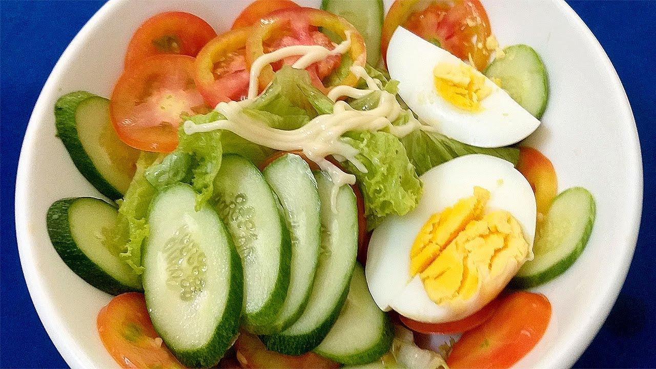Món Ăn Giảm Cân – Salad Trộn trứng hiệu quả giảm cân nhanh l NHT Tập 18