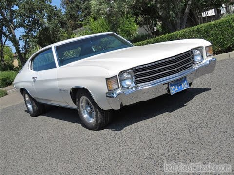 1972 Chevrolet Malibu Chevelle for Sale