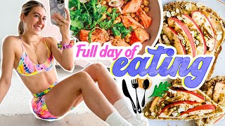 What I Eat iฑ a Day: Intuitive Eating + Big Life Update!