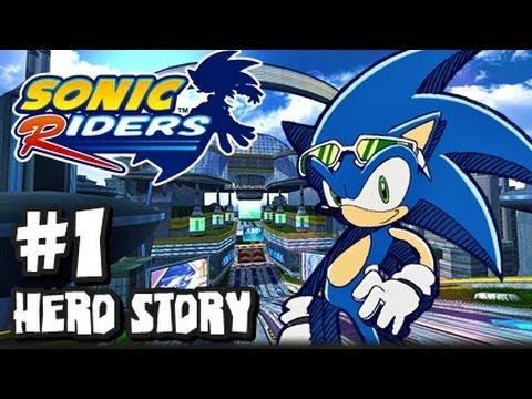 Sonic Riders - (1080p) Hero Story - Part 1