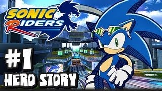Sonic Riders - (1080p) Hero Story - Part 1