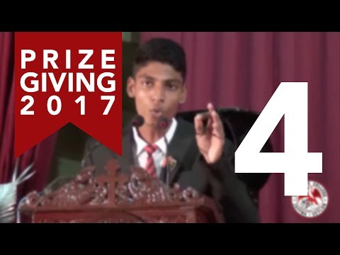 English Oration | Prize Giving 2017