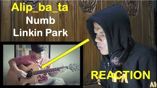 "Gambar cover Numb - Linkin Park (fingerstyle cover) - Alip_ba_ta - ""REACTION"""