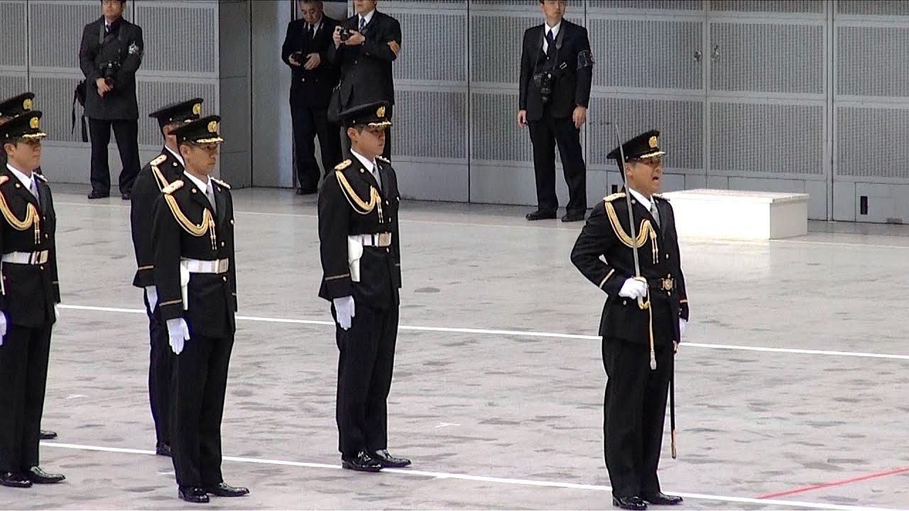 儀仗隊の栄誉礼 - 平成28年 千葉...