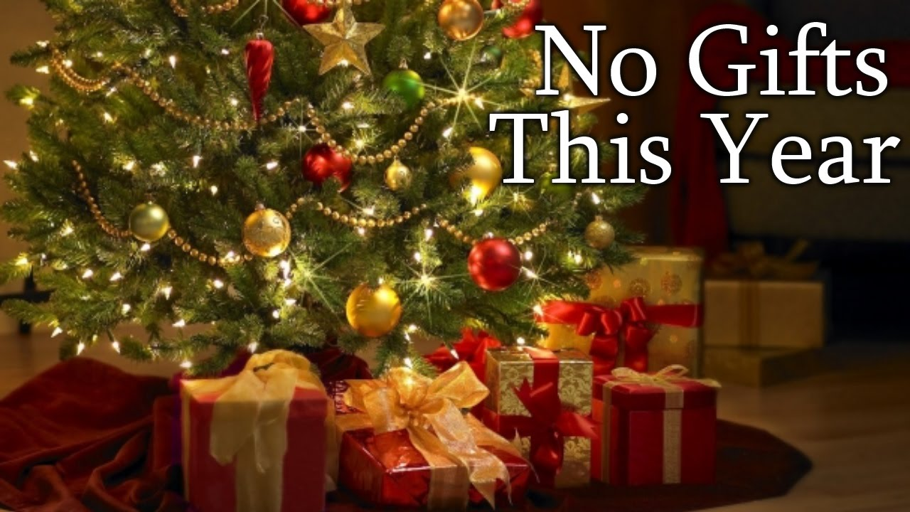 No Gifts This Year\