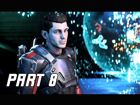 Mass Effect Andromeda Walkthrough Part 8 - VAULT (PC Ultra Let's Play Commentary)