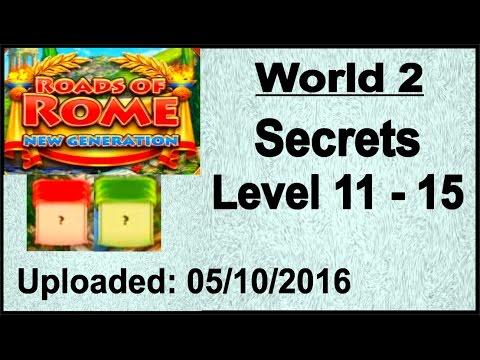 Roads of Rome - New Generation (PC) Geheimnisse, Secrets 11 - 15