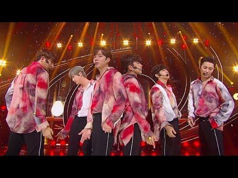 《POWERFUL》 SHINHWA (신화) - Kiss Me Like That @인기가요 Inkigayo 20180909