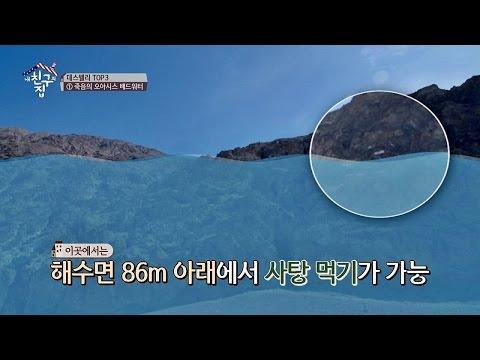 해수면 86M 아래에서 벌레 사탕 먹기! '배드 워터'만의 매력♥ 내 친구의 집은 어디인가 62회