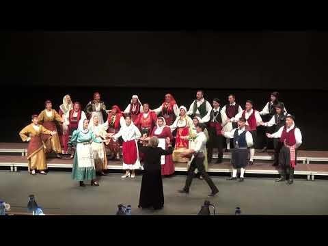 "Choir ""EPTACHORDI LYRE"" St.Efthimios -""Zoum trialarilaro"""