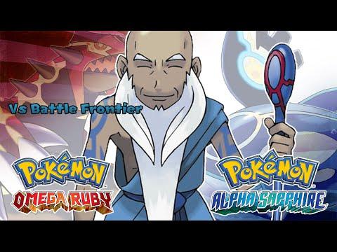Pokemon Omega Ruby Alpha Sapphire Battle Frontier Brain