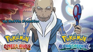 Pokemon Omega Ruby/Alpha Sapphire - Battle! Frontier Brain Music (HQ)
