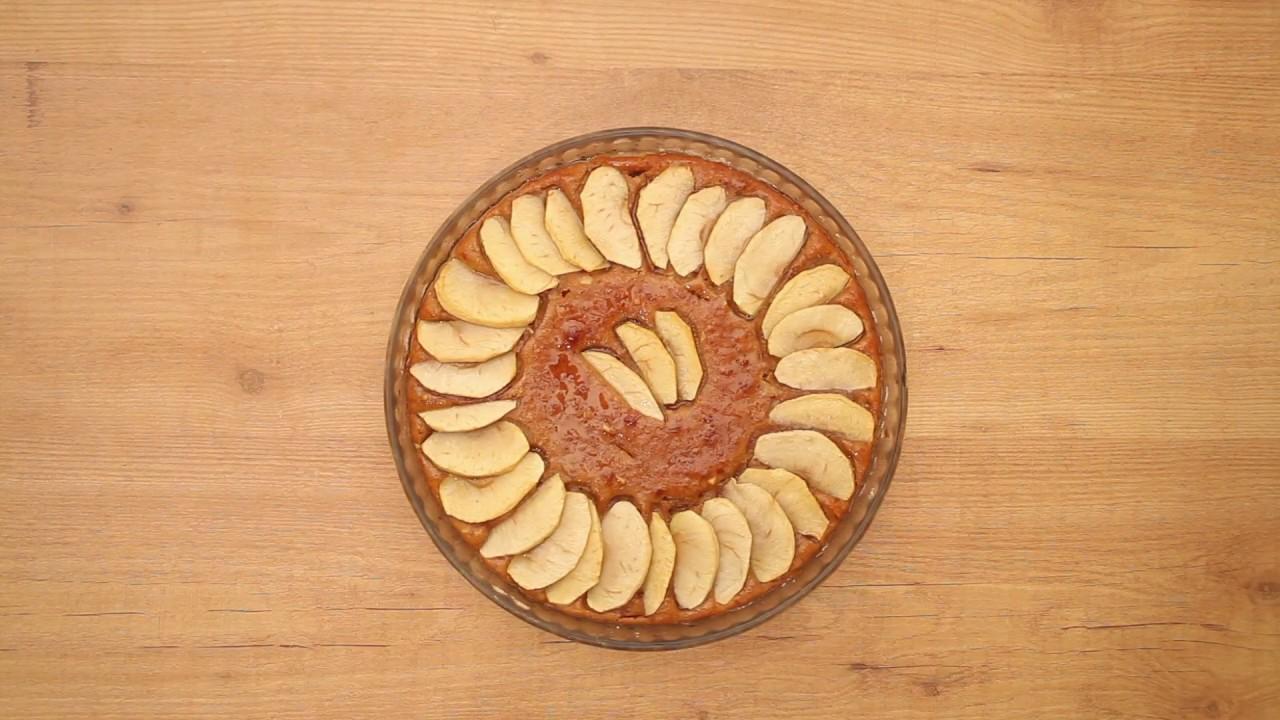Pastel de Manzana con Jengibre - Receta Bio